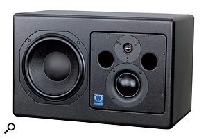 Having an extra driver to take care of the mid-range — as in this Quested monitor, which features a three-inch driver in addition to its woofer and tweeter — improves the monitor's efficiency and reduces distortion.
