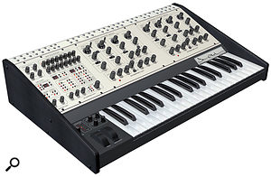 Oberheim Two Voice Pro synthesizer.