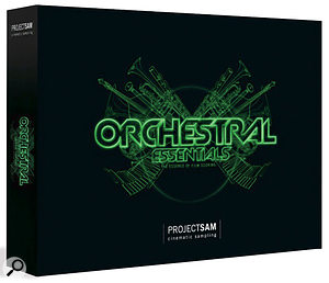 ProjectSAM Orchestral Essentials sample CD.