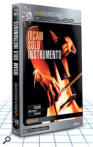 USB IRCAM Solo Instruments