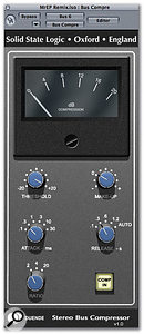The Bus Compressor plug-in is definitely Duende's secret weapon, and is derived from the buss compressor used in the XL9000 K-series console.