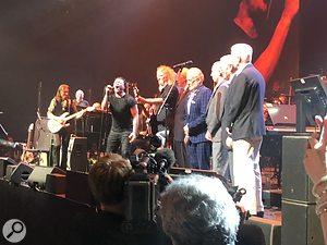 Starmus V 2019 band in concert.