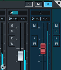 The new UI is more easily customisable. For example, you can set the Mixer view to one of three diferent zoom presets.
