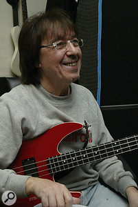 Bill Wyman's bass part was the first celebrity contribution to be recorded.
