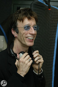Robin Gibb of the Bee Gees was an early recruit to the project, and was later joined by brother Barry.