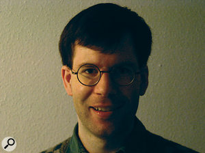 Programmer Paul Kellett.