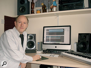 John Clark after the Studio SOS — much more confident in using his Mac and Logic setup than before!