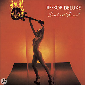 Bill Nelson: Sunburst Finish album cover, showing the transparent tube around the girl.
