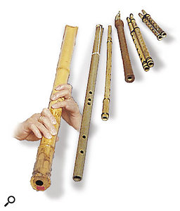 Practical Flute Synthesis: various flutes.