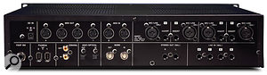 The 1804's first four input channels feature phantom-powered mic preamps and analogue insert points.