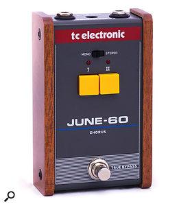 TC Electronic June-60 chorus pedal.