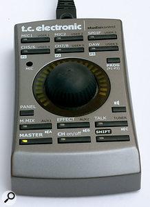 The Konnekt 48's remote control unit: a simple idea but a very useful one.