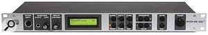The AX100 MkII rack unit itself is straightforward, offering only a 'very 1988' two-line parameter access LCD and a few self-explanatory buttons and controls.