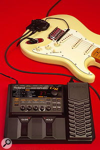 Roland's current guitar synth, the GR20.
