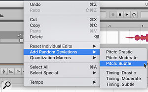 If you have an offline pitch-correction tool such as Melodyne or Revoice Pro, you can generate fake doubles. One benefit, as with real double-tracking, is that you can then use your DAW's editing tools to refine the result.