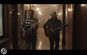 The Mix Review: Timberlake and Stapleton playing geetars.