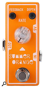 Tone City Summer Orange phaser pedal.