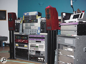 An extensive collection of outboard gear gives pride of place to a wide range of stand-alone preamps.