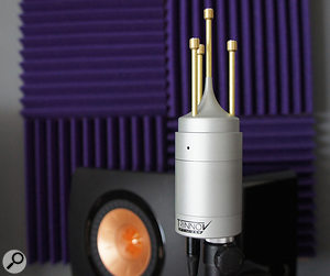 The 3D mic allows the ST2 Pro to separately identify the direct sound, early reflections and the longer 'wash' of reverb.