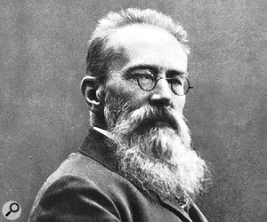 No, not aphoto of the author in his prog rock years — this is Nikolai Rimsky-Korsakov (1844-1908), composer and renowned orchestrator.