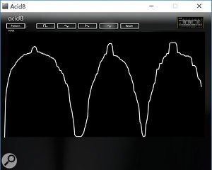 Drawing your own waveforms can be a  somewhat crude process.