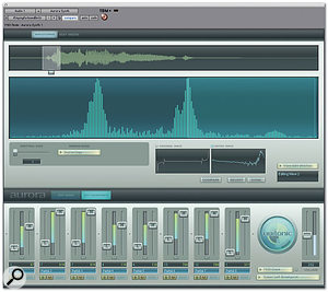 You can load audio from Pro Tools into Aurora to serve as waveforms for the synthesis algorithms.