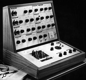 EMS VCS3 synthesizer.