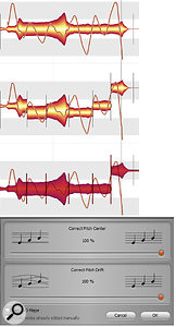 Separating the individual cycles in vibrato can produce a smoother, more consistent, vibrato that still sounds natural.