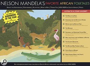 To learn more about Nelson Mandela's Favorite African Folktales, visit www-mandelasfavoritefolktales-com.