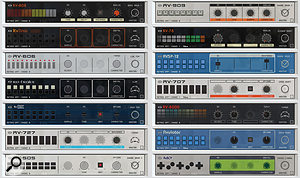 Revolution's Modules. There are variations within each for drum type.