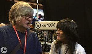 Will Gregory from Goldfrapp talks to Moog Modular owner and keyboardist Tom Szakaly at SynthFest UK 2017.