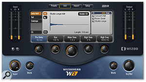 One of W2's unique features is the ability to 'render' IR-based early reflections and tails to a synthesized equivalent for greater flexibility.