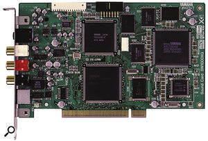 The SW1000XG PCI card has been consigned to history, while, for Yamaha, the mLAN protocol and products like the 01X represent the future.