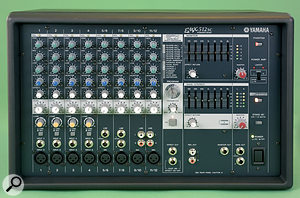 With all controls and audio connectivity on the front panel, the 512SC is very convenient to use. The channels each have access to simple three-band EQ, but there's also a seven-band graphic equaliser (centre right) for the master. Compressors on channels 1-4 are controlled by a single knob, for speed of adjustment, and perform well despite their simplicity.