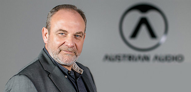 Martin Siedl CEO of Austrian Audio