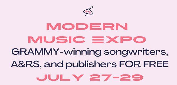 Modern Music Expo logo/info