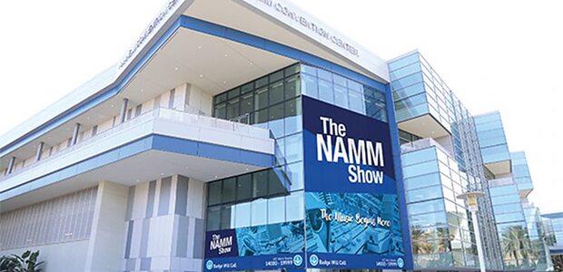 NAMM Show 2019 Anaheim Convention Centre exterior view.