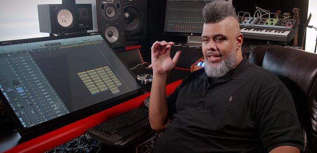 Producer Oak Felder in his studio.