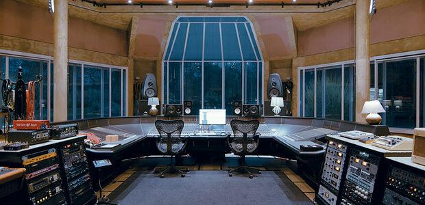 Real World Studios main room.