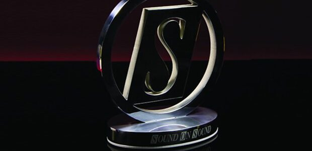 SOS Awards trophy.