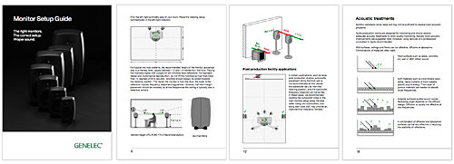 Genelec Monitor Setup Guide