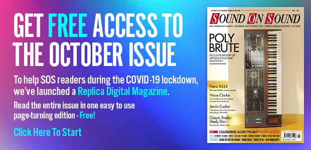 Stuck At Home? Get your FREE access to SOS October 2020 Digital Magazine - click here!