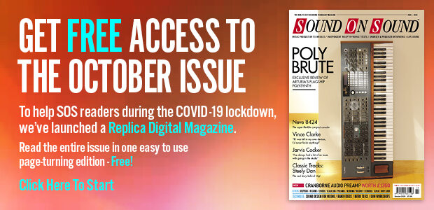 Stuck At Home? Can't get to your newsstand/newsagnet/bookstore to pick up SOS October? Click here to get free access to our Digital Replica version.