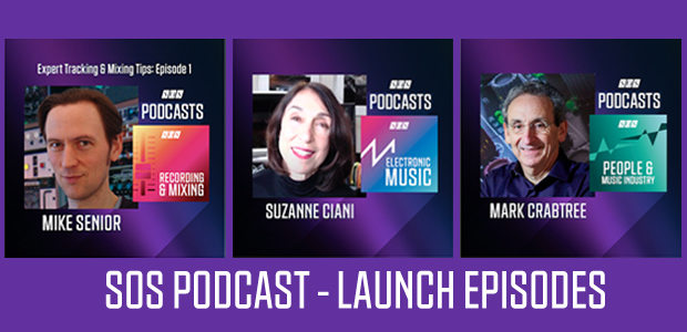 SOS Podcasts - 3 launch Episodes