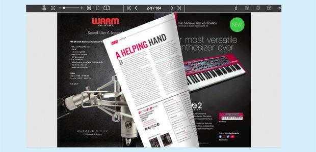 SOS June 2020 Digital Magazine page-turn screenshot