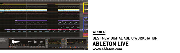 SOS Awards Ableton Live
