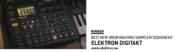 SOS Awards Elektron Digitakt