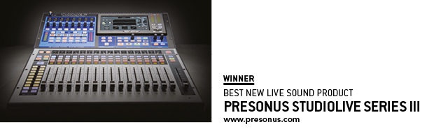 SOS Awards Presonus Studio Live Series iii