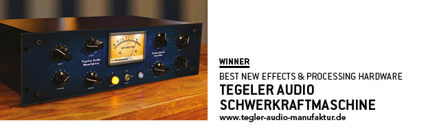 SOS Awards Tegeler Audio Schwerkraftmaschine