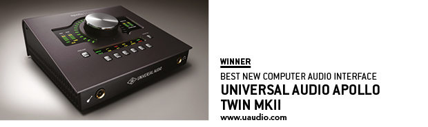 SOS Awards Universal Audio Apollo Twin MKii